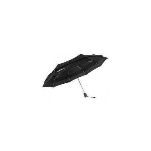 Parasol automatyczny z wiatrołapem marki SWISSGEAR Wenger czarny, W1100