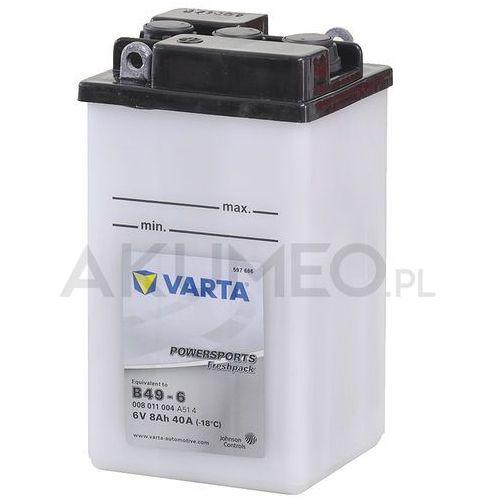 Akumulator VARTA Powersports B49-6 6V 8Ah 40A (4016987141243)