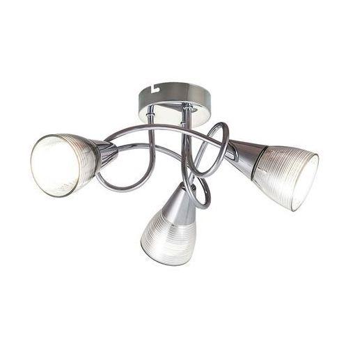 Plafon lampa sufitowa Rabalux Theo 3x40W E14 chrom 6095, 6095