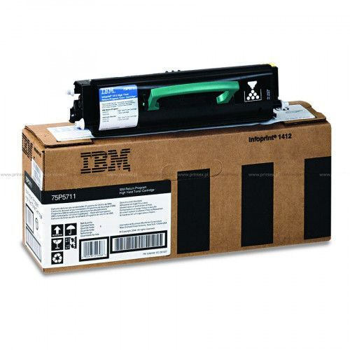 Ibm  toner 75p5711, 6tk, black