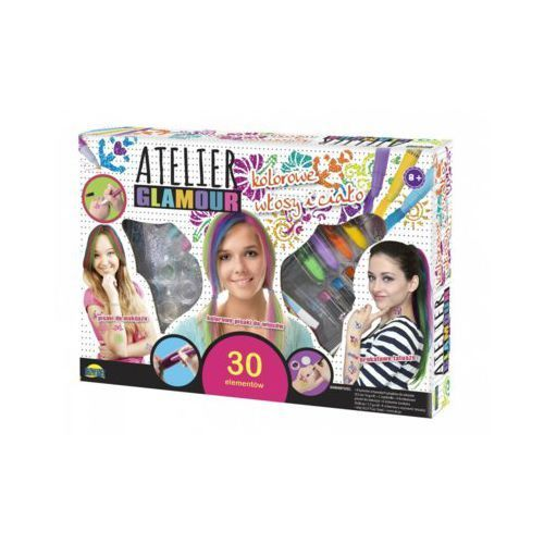 Dromader Atelier Glamour Kolorowe włosy i ciało (5900360008591)