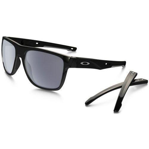 crossrange xl okulary sportowe polished black marki Oakley