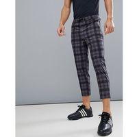 golf check trousers - grey marki Asos 4505