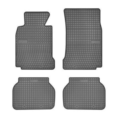 Zestaw szarych dywaników gumowych gr0668 marki Frogum