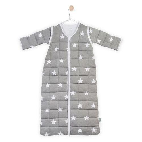 - śpiworek do spania z odpinanymi rekawkami szary little star , 6-18 m-cy, 90 cm marki Jollein