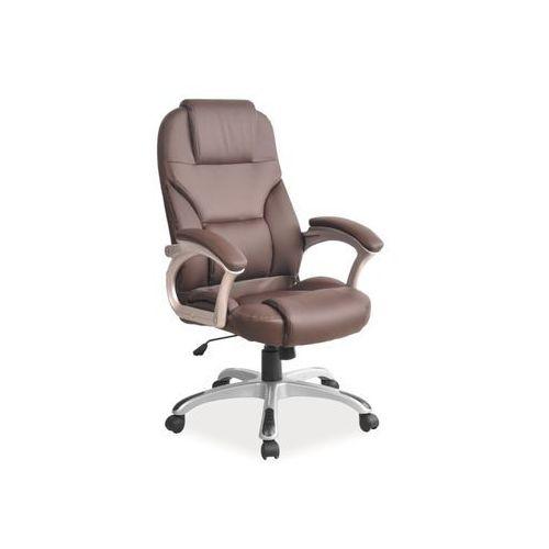 Fotel obrotowy, krzesło biurowe Q-077 brown