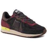 Sneakersy PEPE JEANS - PMS30581 Antracite 982, kolor wielokolorowy
