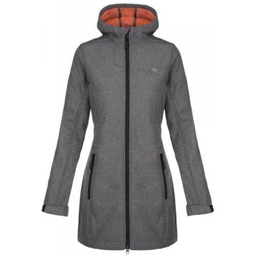 Loap płaszcz softshellowy damski lavinia szary l (8592946742189)