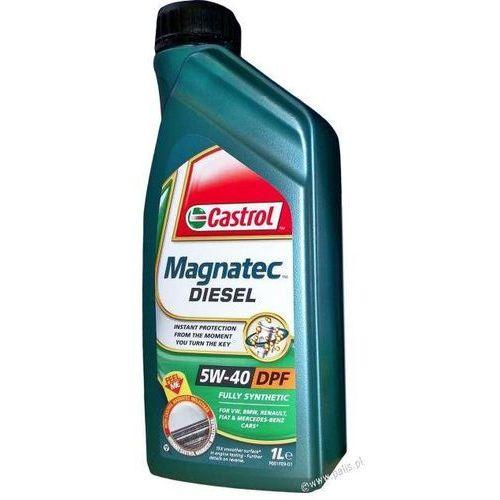 Olej  magnatec 5w40 diesel c3 1 litr !odbiór osobisty kraków! lub wysyłka marki Castrol