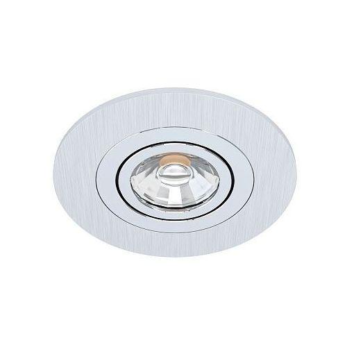 Eglo areitio 98638 oczko lampa wpuszczana downlight 1x5w gu10 szary/szary