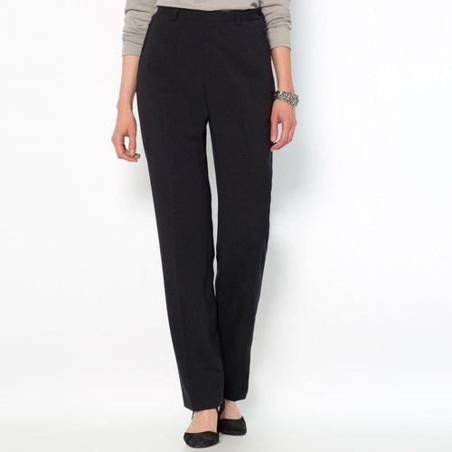 Spodnie na suwak z boku, z wygodnego stretchu