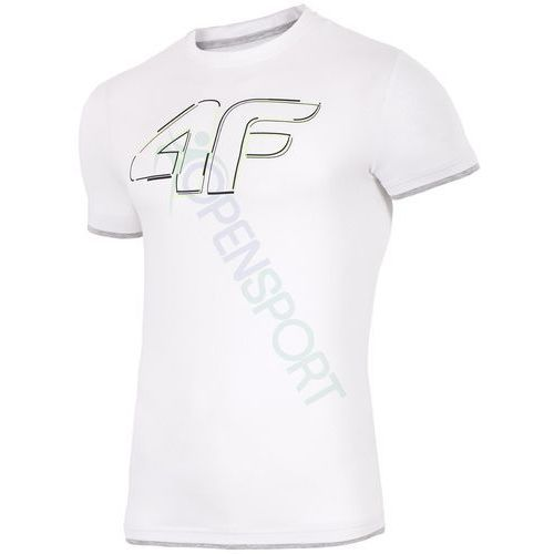 4f Koszulka męska t-shirt h4l17 tsm021 biały xxxl