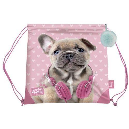 Cyp brands Worek szkolny 34x44 cm studio pets (8426842067117)