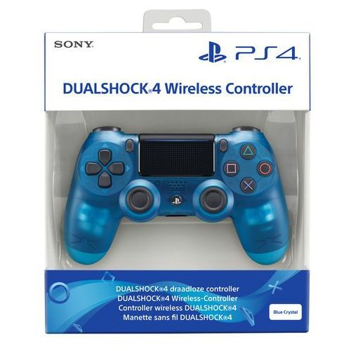 Kontroler sony dualshock 4 v2 przezroczysto-niebieski + zamów z dostawą jutro! + darmowy transport! marki Sony computer