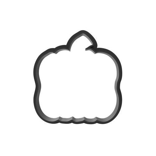 Bio foremka dynia do ciastek na halloween - 1 szt marki Printerior