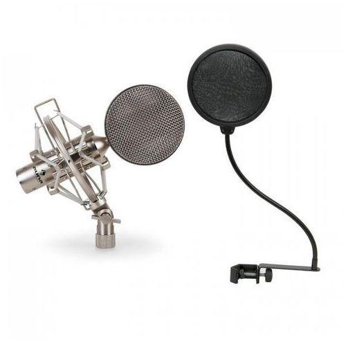 Zestaw mikrofonowy x mikrofon studyjny 1 x pop filtr