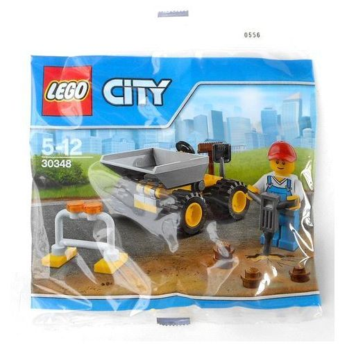 -KLOCKI KONSTR LEGO 30348 CITY FOL