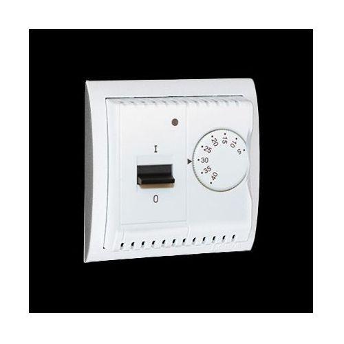 Kontakt-simon Regulator temperatury z czujnikiem wewnętrznym, 16a, 230v~. montaż na wkręty; biały