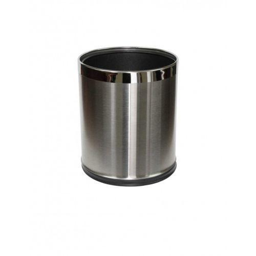 Stella pojemnik na śmieci 9 L, zdejmowana obudowa ze stali nierdzewnej szczotkowanej 20.100