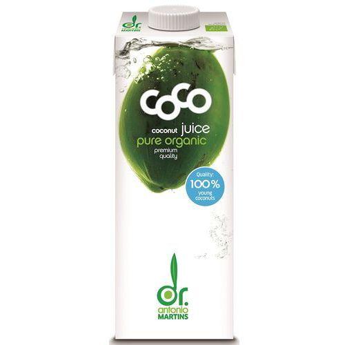 Coco (dr. martins, aqua verde) (wody kokosowe) Woda kokosowa naturalna bio 1 l -coco (dr. martins)