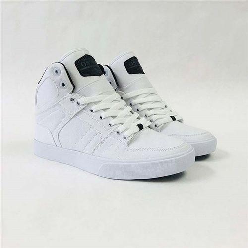 buty OSIRIS - Nyc 83 Vlc Dcn White/Black/White (282) rozmiar: 42, kolor biały