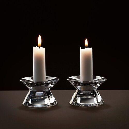 - 2 świeczniki, przeźroczyste marki Rosendahl