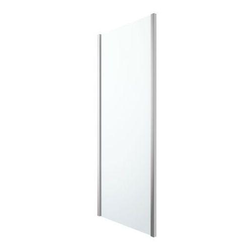 Goodhome Ścianka prysznicowa beloya 90 cm chrom/transparentna
