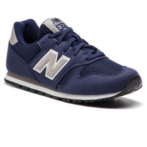 Sneakersy NEW BALANCE - YC373NV Granatowy, kolor niebieski