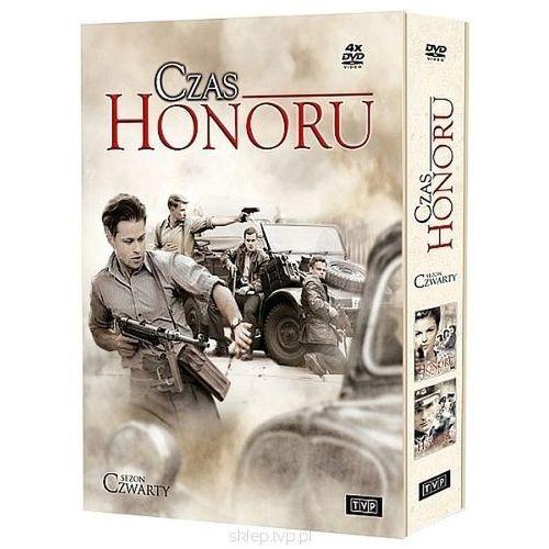 Czas honoru - sezon 4 (4 DVD) - Jarosław Sokół, Ewa Wencel z kategorii Filmy polskie