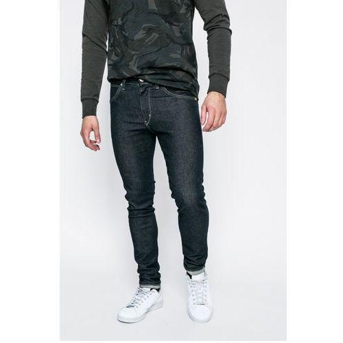 - jeansy strangler rinse marki Wrangler