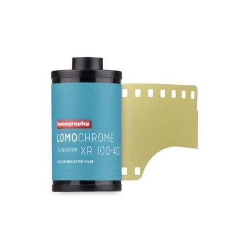 Lomography LomoChrome Turquoise XR 100-400/36 film kolorowy 135