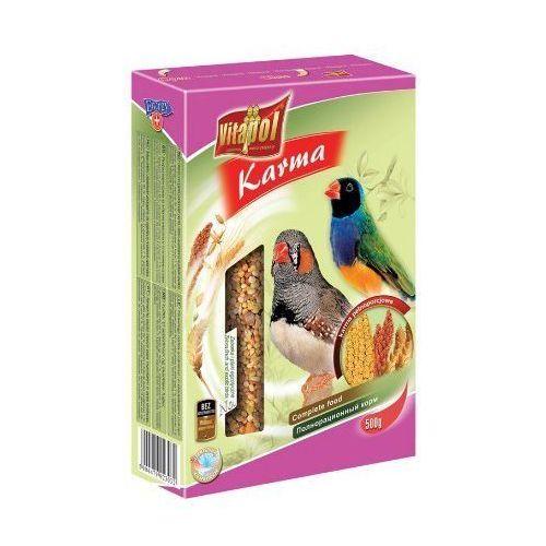 Vitapol Pokarm dla zeberki i ptaków egzotycznych 500g [2303], towar z kategorii: Pokarmy dla ptaków