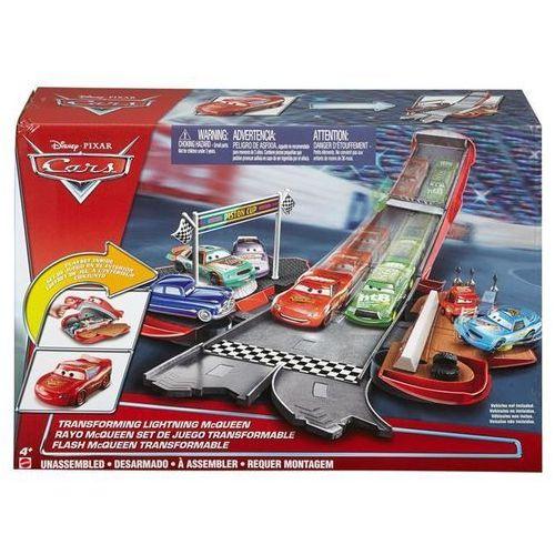 Auta. zygzak rozkładany tor wyścigowy 2w1, marki Mattel