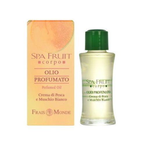 Frais Monde Spa Fruit Peach And White Musk Perfumed Oil 10ml W Olejek perfumowany z kategorii Pozostałe kosmetyki