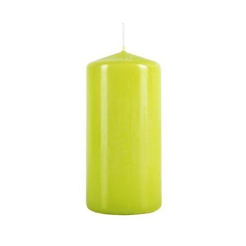 Świeca pieńkowa jasnozielona wys. 12 cm BOLSIUS (8717847021793)