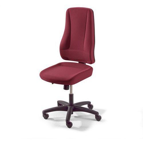 Interstuhl büromöbel Krzesło obrotowe z siedziskiem nieckowym, wys. oparcia 660 mm, kolor obicia: cze