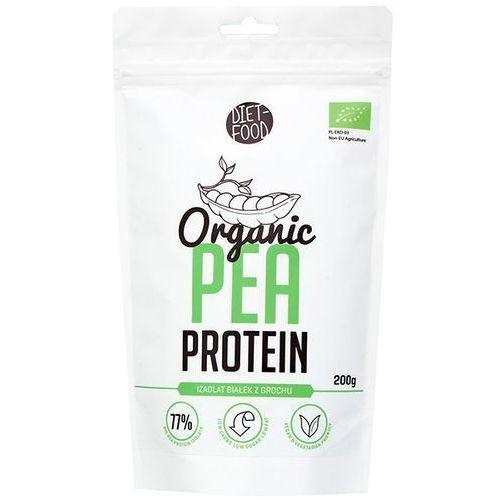 Diet-food Diet food 200g organic pea protein izolat białek z grochu