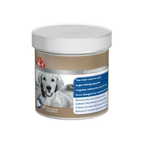 8in1 płatki kosmetyczne do oczu dla psa tear cleansing pads 90 szt (4048422105626)