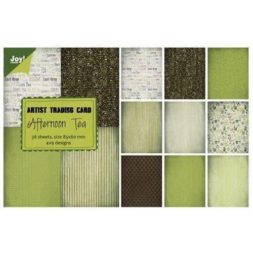 Ozdobny papier Afternoon Tea 85x60mm/36szt. - AT