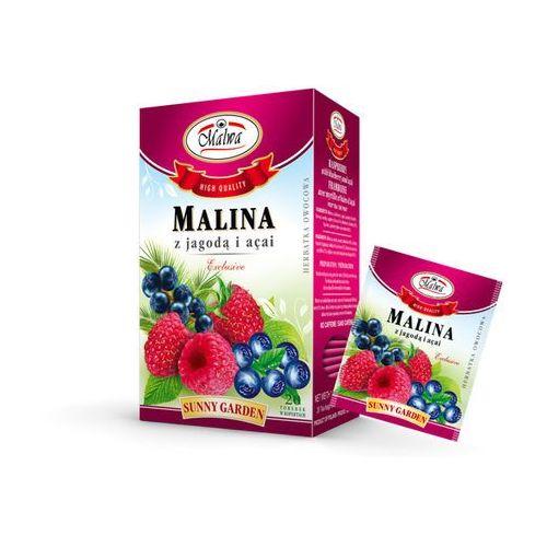 Malwa tea Malwa sunny garden herbata malina z jagodą i acai