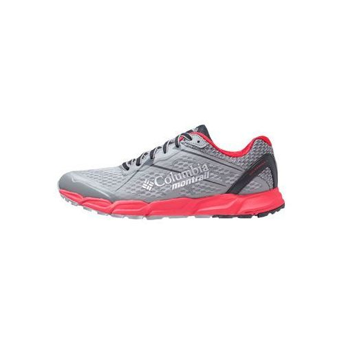 Columbia CALDORADO II Obuwie do biegania Szlak charcoal/bright red (0190178583143)