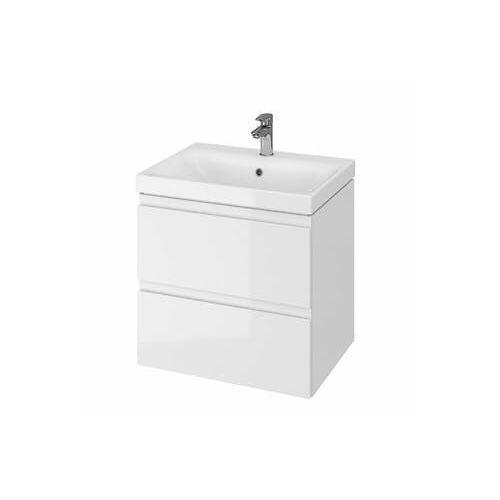 zestaw łazienkowy (szafka+umywalka) moduo 60cm biała s801-223 marki Cersanit