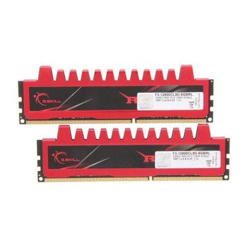 G.Skill Ripjaws DDR3 8GB (2x4GB) 1600 CL9 - produkt w magazynie - szybka wysyłka! (4711148594851)