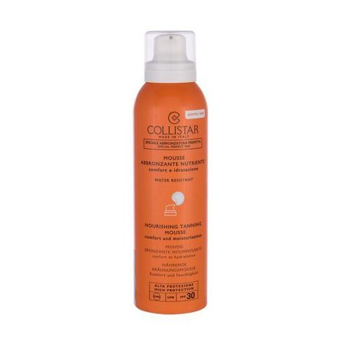 Collistar special perfect tan nourishing tanning mousse spf30 preparat do opalania ciała 200 ml tester dla kobiet
