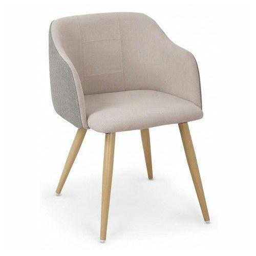 Krzesło limer - beżowe + popiel marki Elior.pl