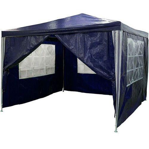 Niebieski pawilon ogrodowy 3x3 4 ściany namiot handlowy - niebieski marki Mks