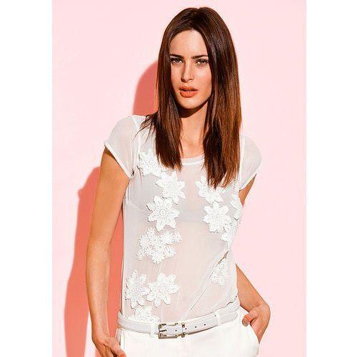 Bluzka bonprix biały, wiskoza