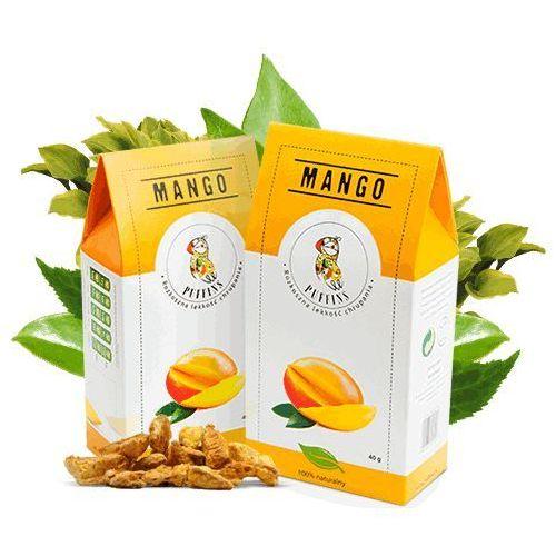 Puffins Mango Suszone Bez Cukru 40g MicroFood EKO (5901685101264)