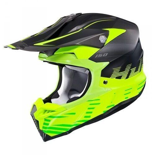 Hjc kask off-road i50 fury black/green