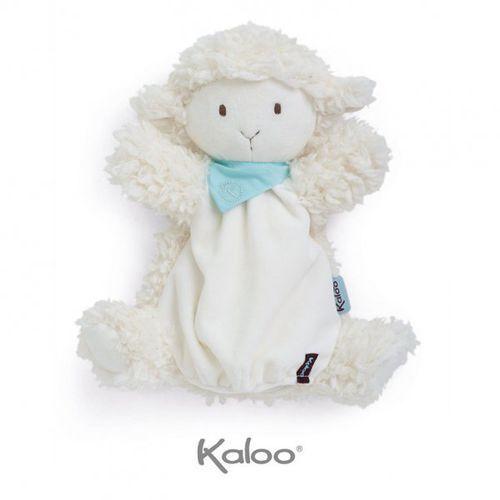 owieczka waniliowa pierwsza przytulanka pacynka 30 cm kolekcja les amis marki Kaloo